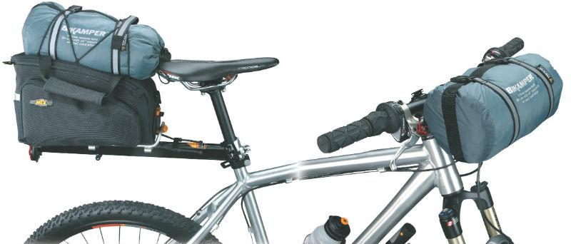 bikamper - Accesorios para cicloturismo - Tienda de campaña para viajar en bicicleta - carpa