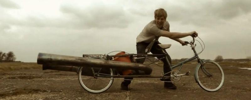 Bicicleta Jet - Colin Furze Invento