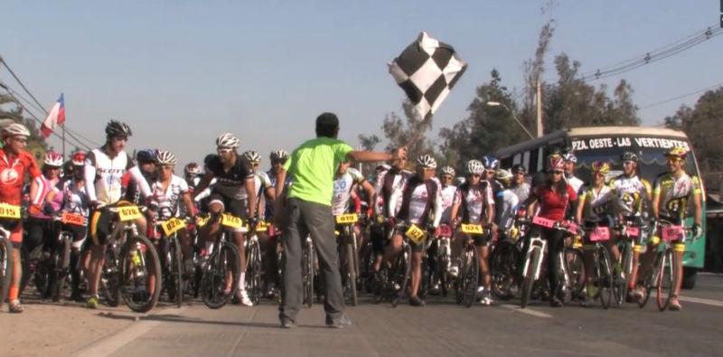 Bicicletas en Chile Solidarias por Xanxi