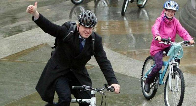 Boris Johnson - Promotor de las bicicletas en Londres - 2