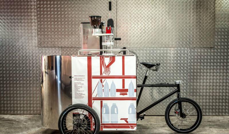 Bicimáquina - Velopresso prepara café para todos