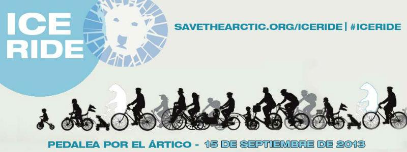 Greenpeace Madrid - Bicicletas en Madrid pedalean por el ártico