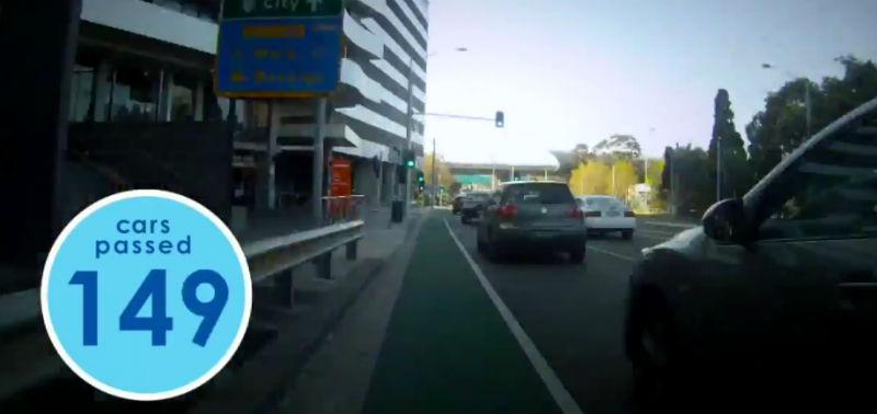 Las bicicletas en la ciudad son más rápidas que los autos