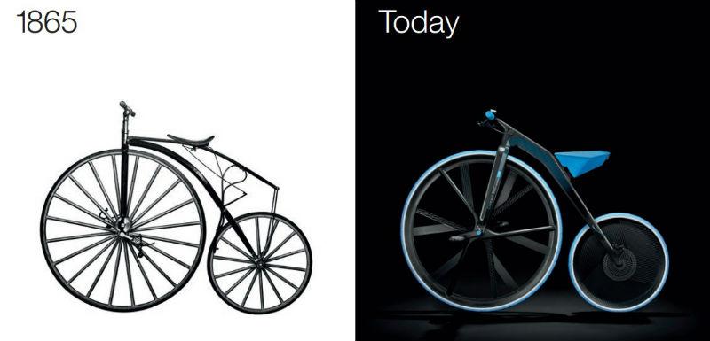 Bicicleta Basf - Concept e-bike e-velocipede