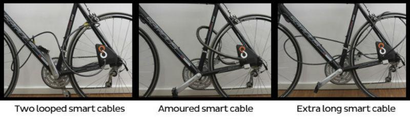 Candado para bicicletas - Accesorio para evitar robos de bicicletas