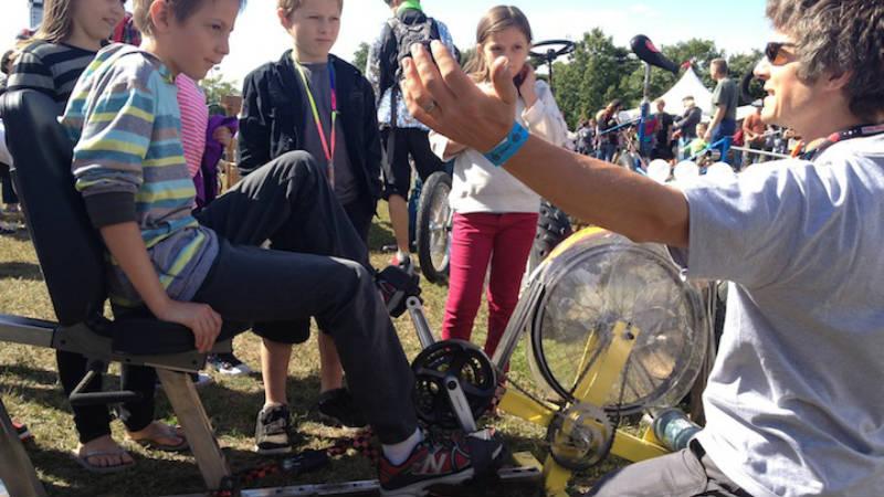 Bicimáquinas - Pedal-power niños -