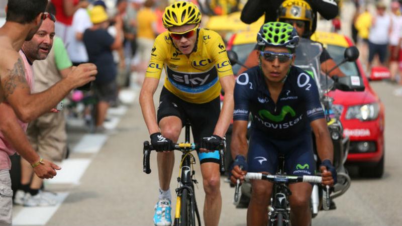 Chris Froome - Nairo Quintana Mejor ciclista del mundo - Ciclista del año 2013