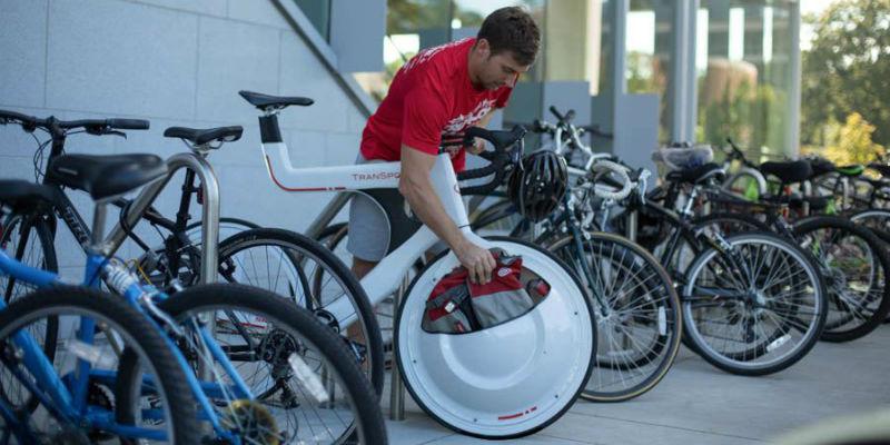 Bicicleta con portaobjetos Transport