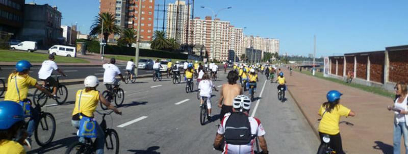 Bicicletas en Uruguay - AJE Uruguay - Goodbike - Bicicleteada Emprendedora