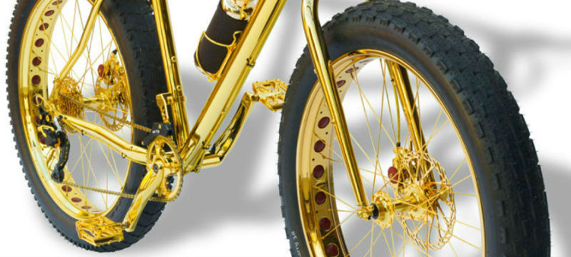La Gold Extreme Mountain Bike - Bicicleta BMX más cara del mundo