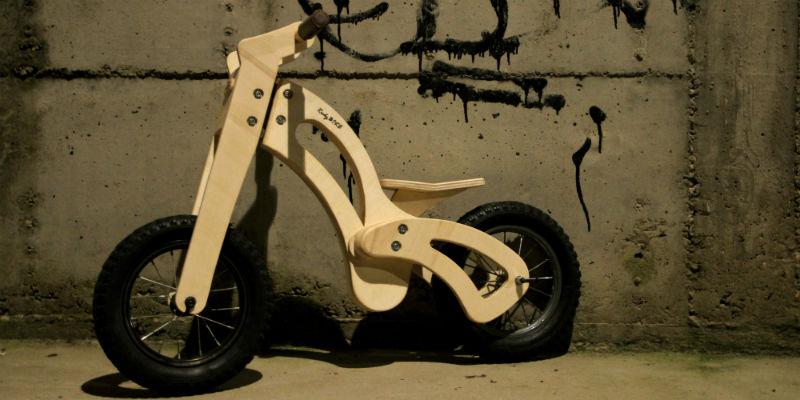 RudyBIKE Kid Bicicletas de madera