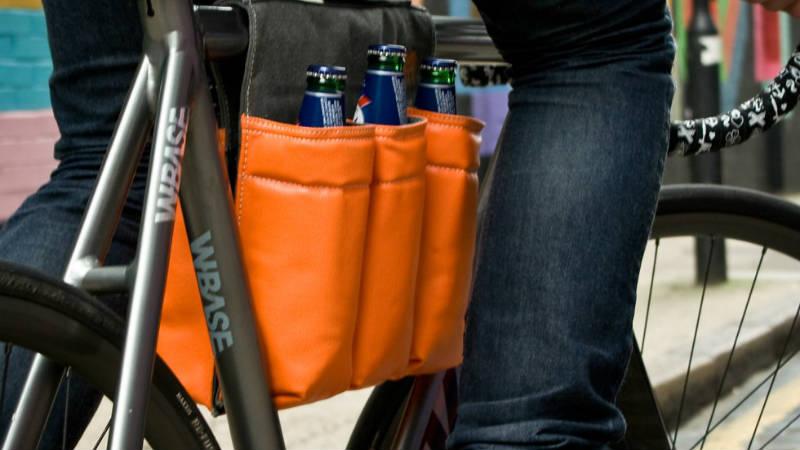 Accesorio para bicicletas - Transportar botellas en la bici