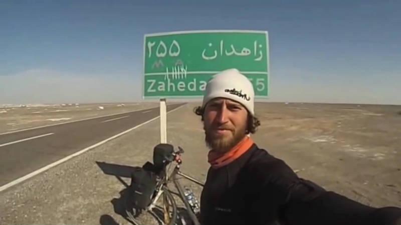 Cicloturista espanol Javier Colorado victima de atentado en pakistan y salva su vida de milagro