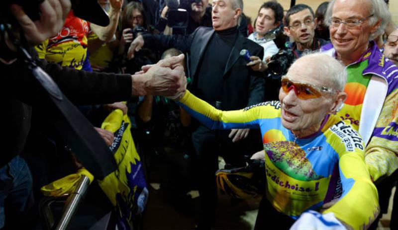 Robert Marchand tiene la edad ideal para la bicicleta record mundial centenario