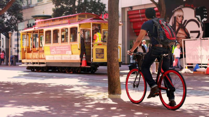 Bicicleta de fibra de carbono inteligente Vanhawks