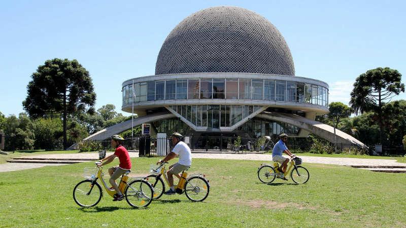 Competencia de ciclismo urbano en Buenos Aires Argentina Urban City Bike Baires