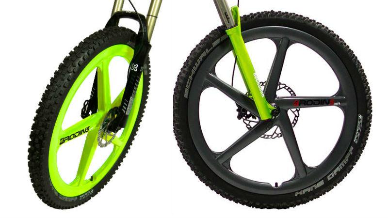 Ruedas de bicicletas impresas en 3D Rodin Wheels