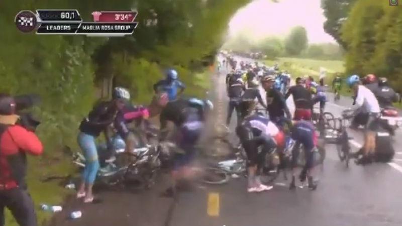 como fue la tercera etapa del giro de italia 2014