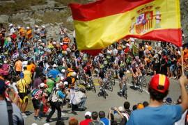 A que hora comienzan las etapas de la vuelta de espana 2014 en argentina chile uruguay paraguay colombia mexico