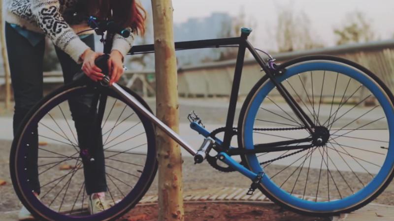 Bicicleta Inrobable - Yerka Project el fin de los robos de bicicletas