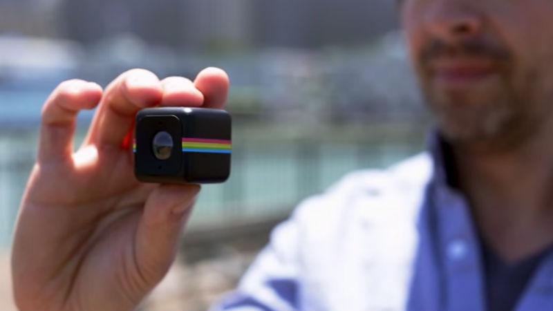 Camara de accion Polaroid Cube para ciclistas y bicicletas con estilo