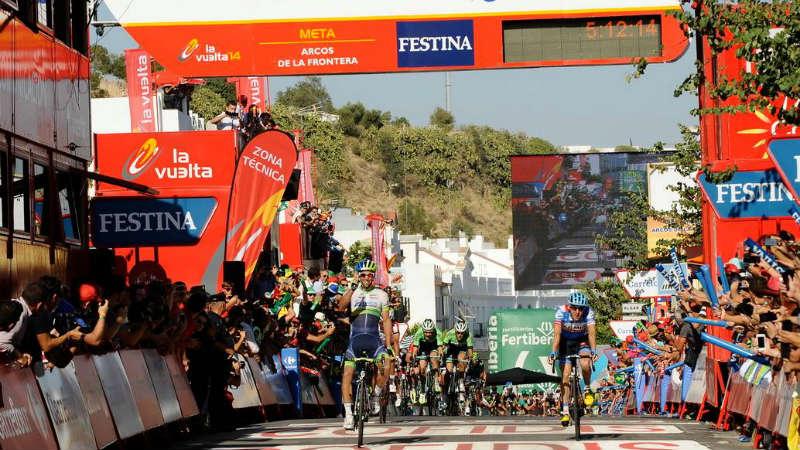 Como fue la etapa 3 de la Vuelta a España 2014