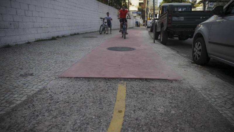 Botafogo Mejoran las ciclovias en Rio de Janeiro Brasil