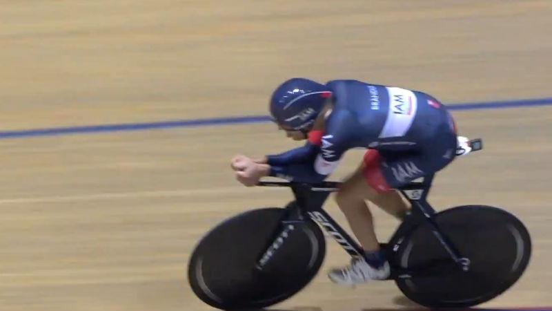 Matthias Brandle es el ciclista mas rapido del mundo UCI Record