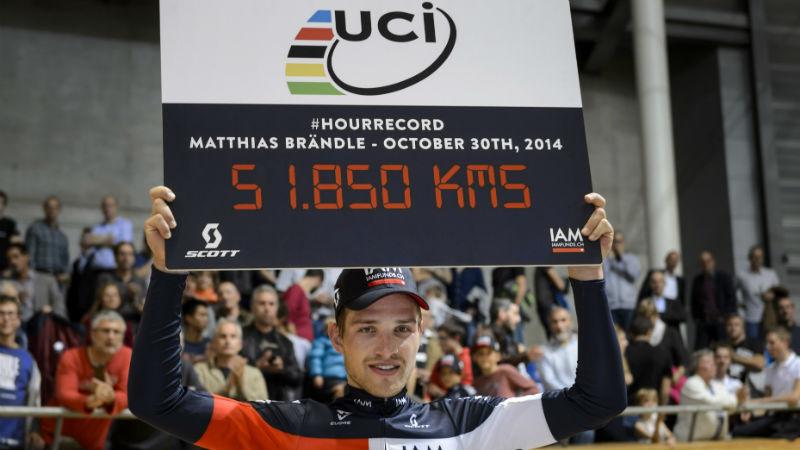 Matthias Brandle es el ciclista mas rapido del mundo