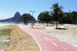 Mejoran las ciclovias en Rio de Janeiro Brasil
