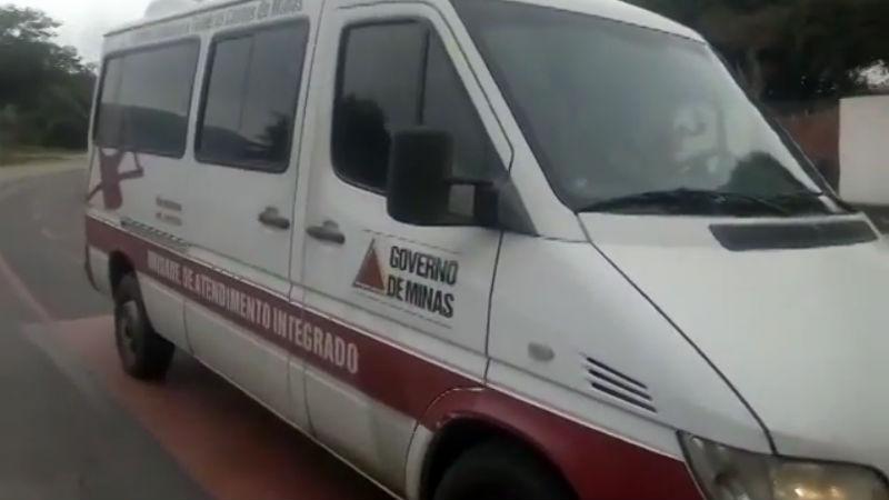 Vehiculo oficial del gobierno de Minas Gerais atropello una bicicleta