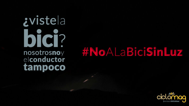 Luces Para Bicicletas Dile #NoALaBiciSinLuz