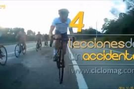 4 lecciones de un accidente de bicicletas