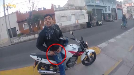 Asalto a turista en bicicleta por Buenos Aires