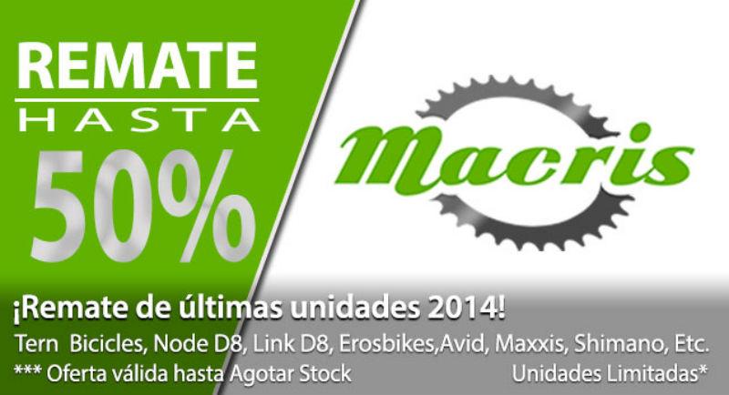 Conoce esta oferta de accesorios y bicicletas en Chile