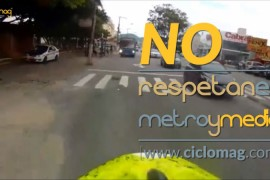 No respetan la regla del metro y medio en Brasil