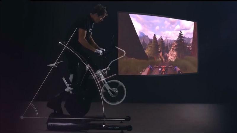 Simulador de Bicicletas Ergometrica Estatica Ebove B01