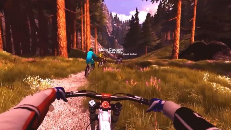 Simulador de bicicletas Ebove B01 Realidad Virtual Ergometrica