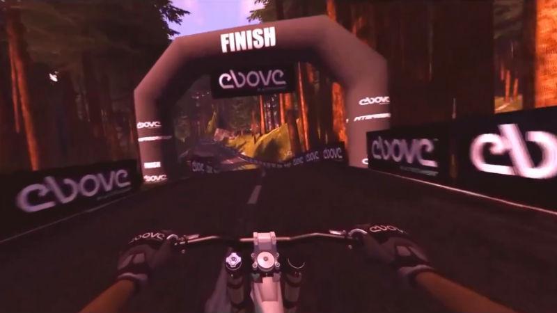 Simulador de bicicletas Ebove B01 Realidad Virtual Estatica