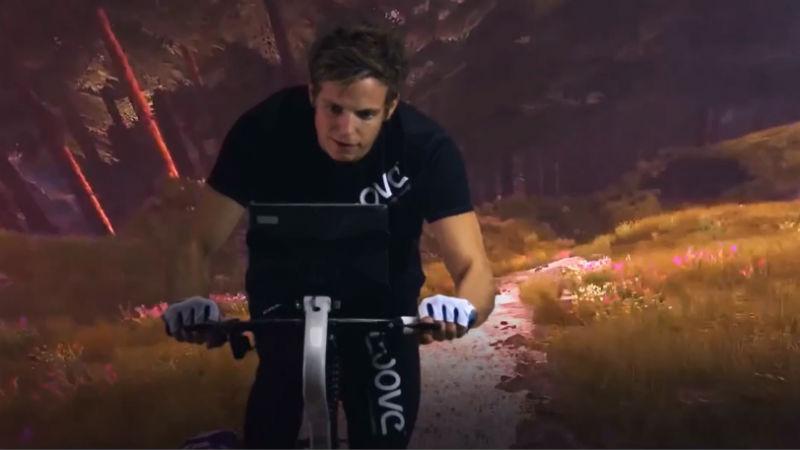 Simulador de bicicletas Ebove B01 Realidad Virtual