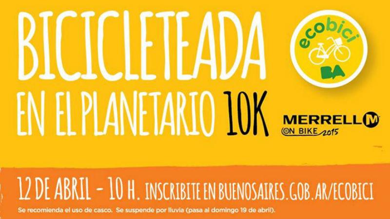 Bicicleteada en el Planetario es un excelente paseo en bicicleta por Buenos Aires