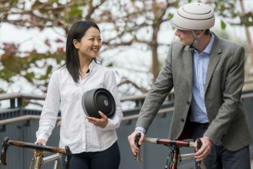Closca cascos plegables para ciclistas urbanos de hoy