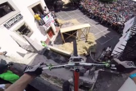 Kelly McGarry en el Taxco Urban Downhill