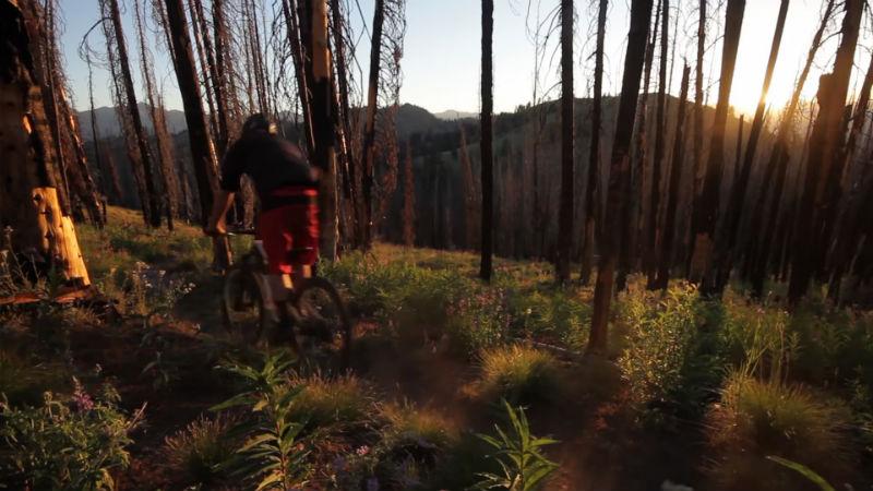 Matt Hunter recorre el Valle del Sol en su bicicleta Specialized