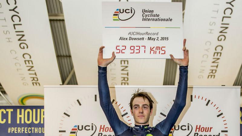 Alex Dowsett es el nuevo ciclista mas rapido en una hora