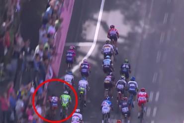 Caida en la etapa 6 del Giro de Italia 2015 Alberto Contador puede quedar fuera