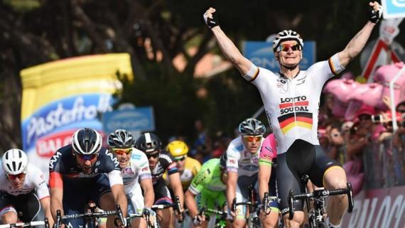 Como fue la etapa 6 del Giro de Italia 2015
