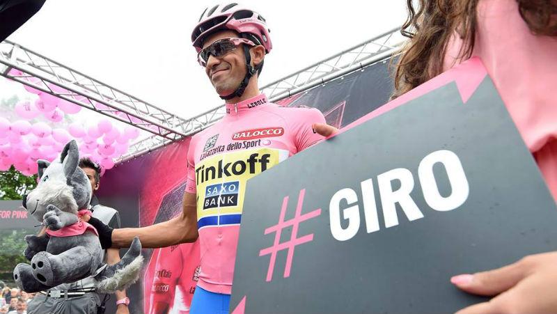Diego Ulissi retorno a la victoria en la etapa 7 del Giro de Italia y Alberto Contador Finalizo dolorido