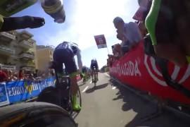 Disfruta del Orica GreenEdge y su camara a bordo en el Giro 2015