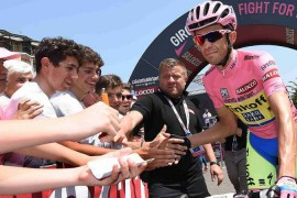 El Giro de Italia 2015 le sonrie a Alberto Contador
